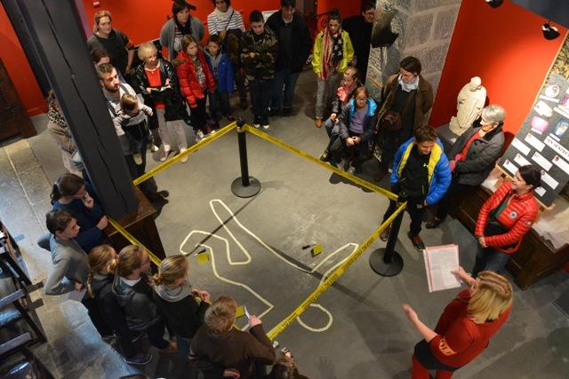 Cluedo géant musée Alfred Douet