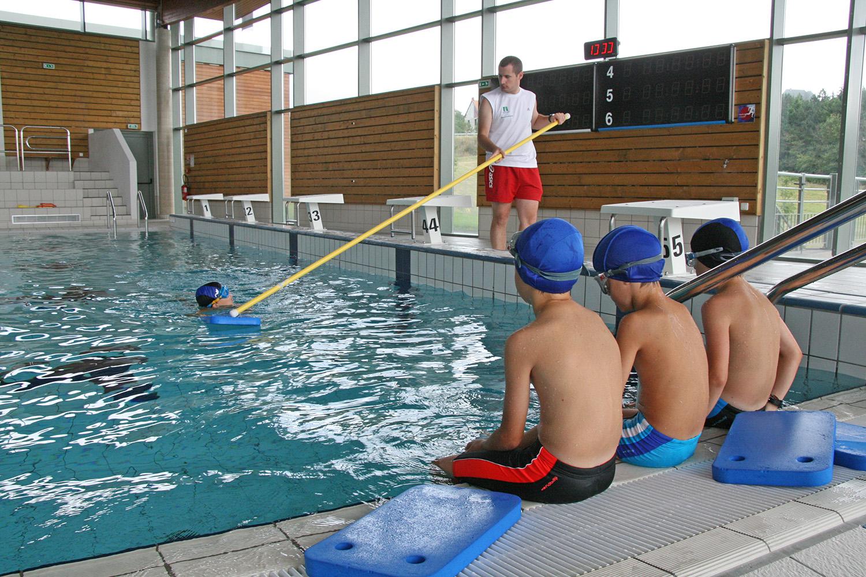 centre aqualudique espace aquatique leçon de natation