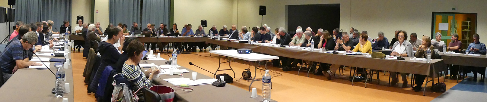 Conseil communautaire panoramique 25 septembre 2017