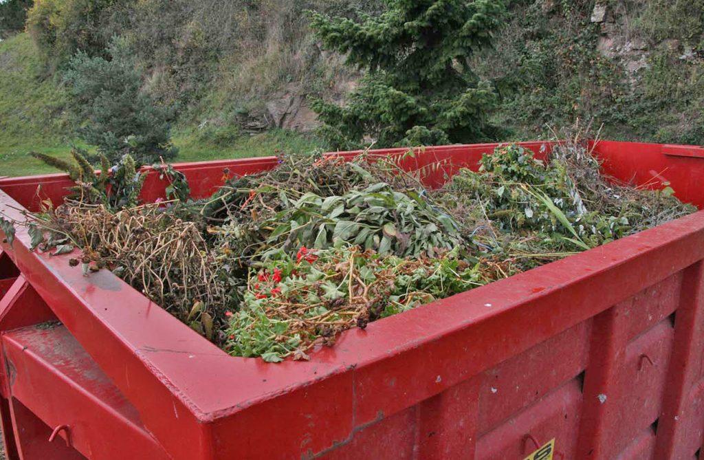 bac déchets verts