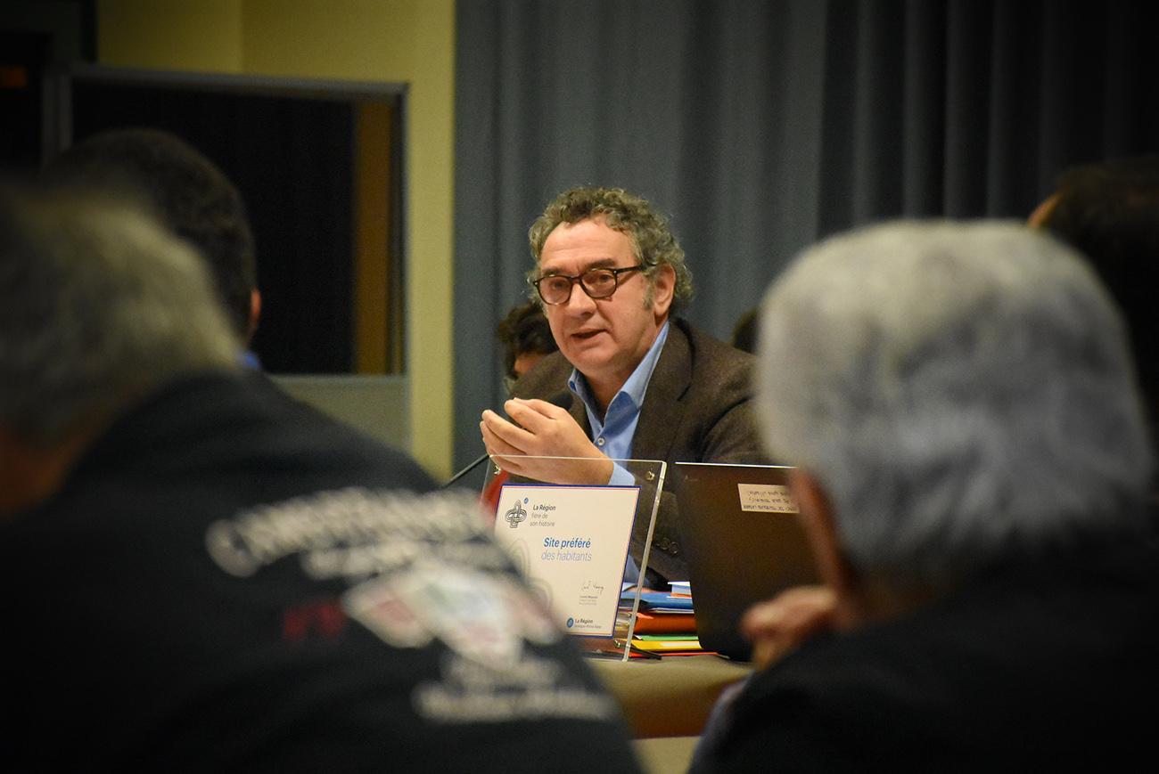 Conseil communautaire 18 décembre 2017 Pierre JARLIER
