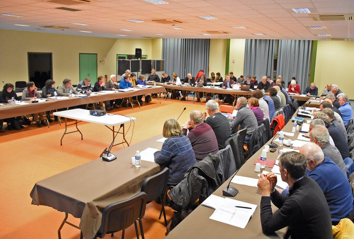 Conseil communautaire 18 décembre 2017