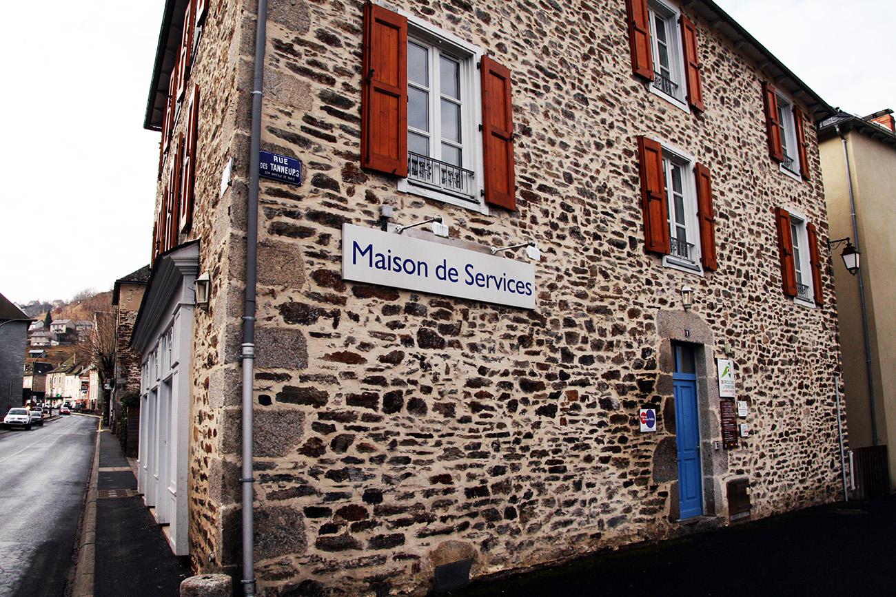 maison des services au public de Chaudes-Aigues