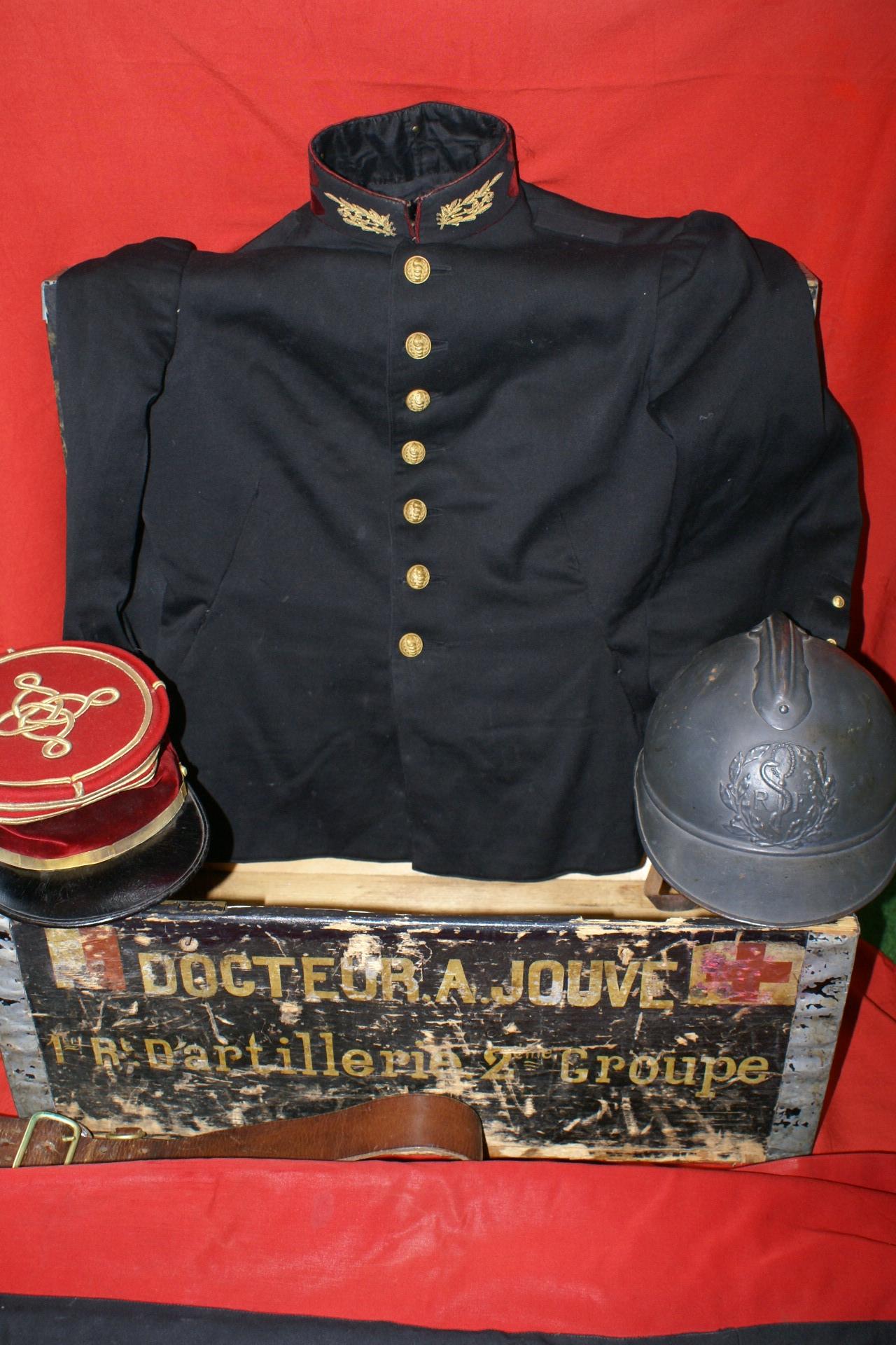Malle Docteur Jouve Exposition Grande Guerre Pays de Pierrefort-Neuvéglise