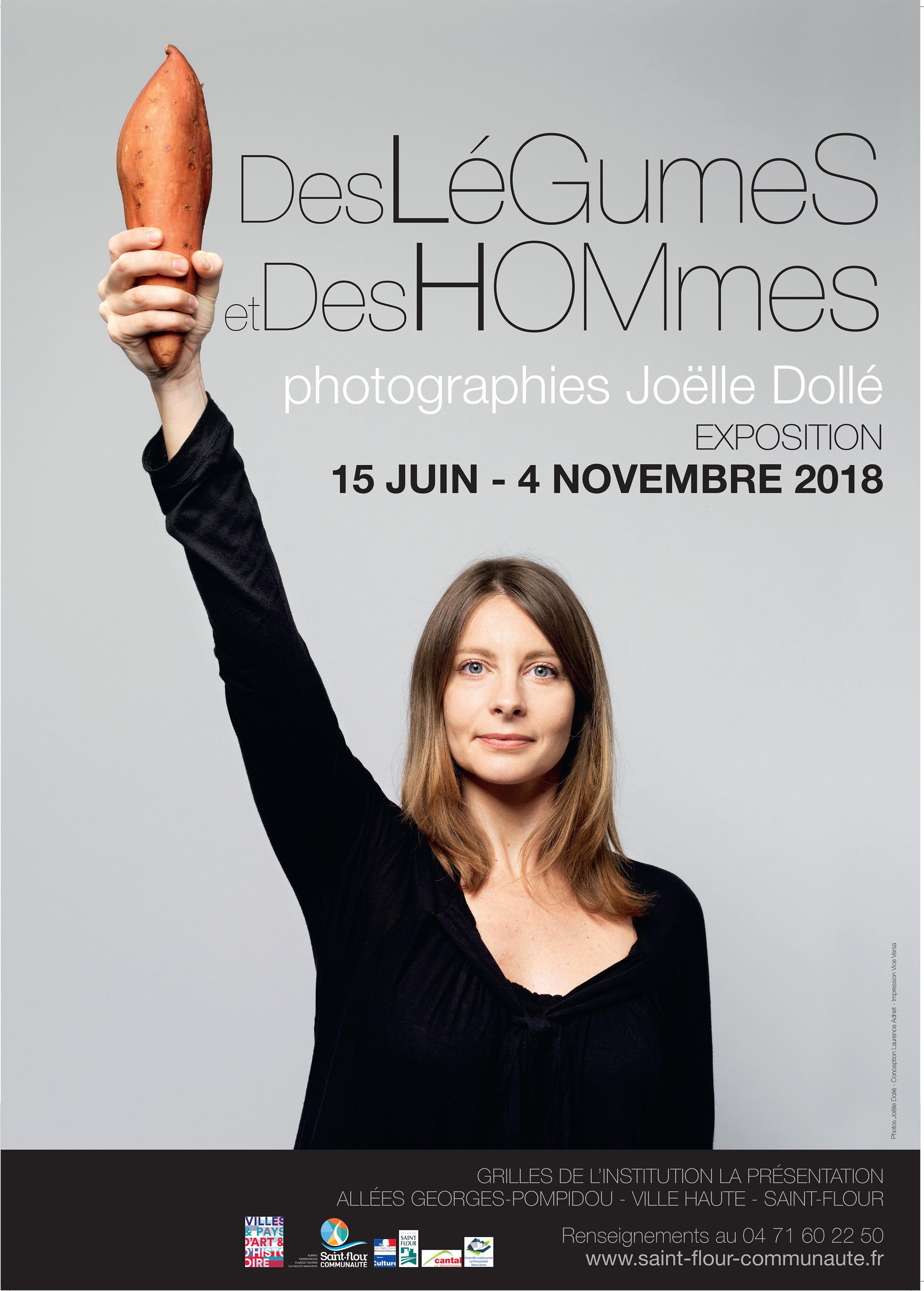 Affiche A3 Saint-Flour 2018.indd Expo grilles des légumes et des hommes