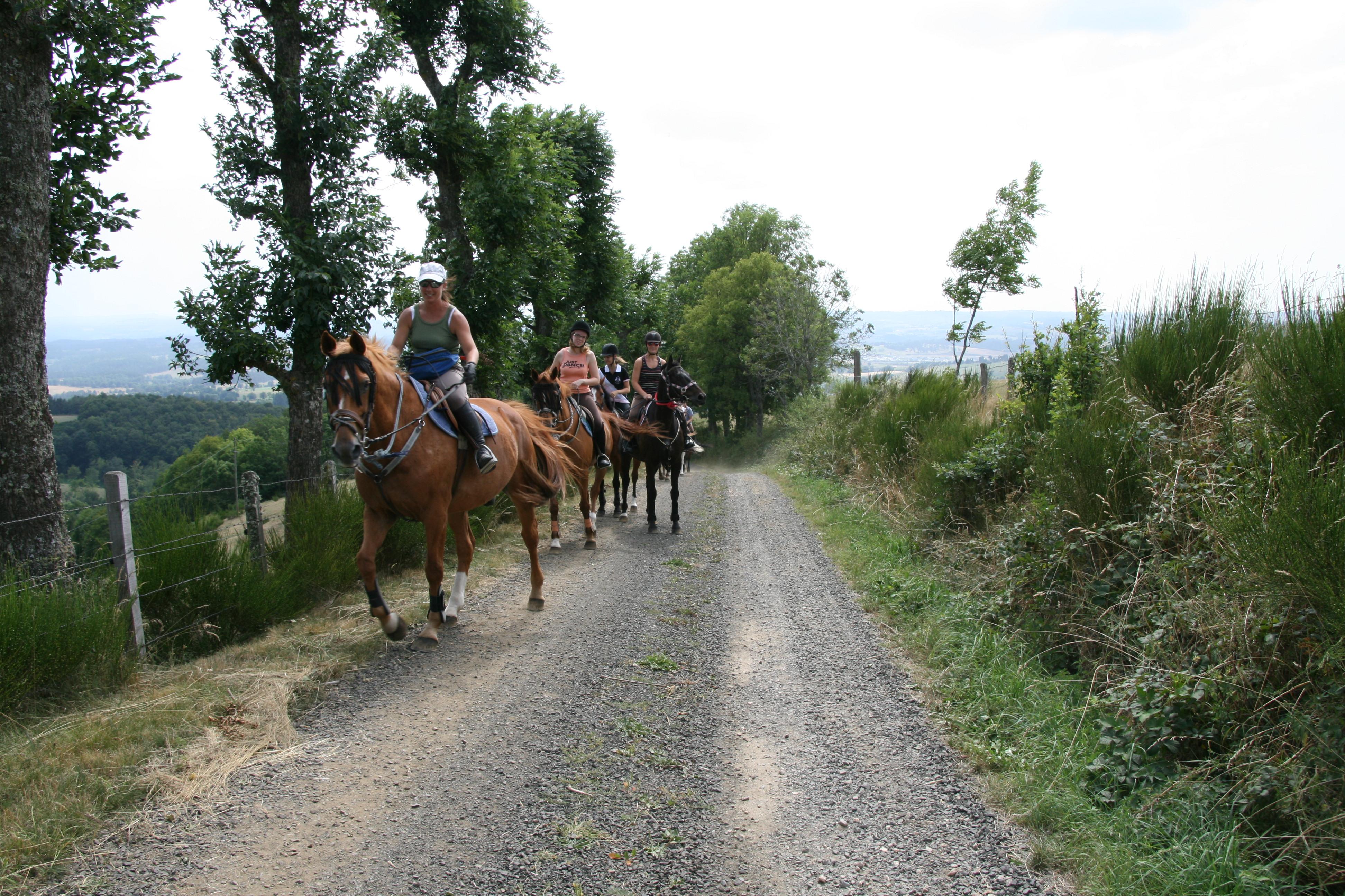 sport randonnée equitation
