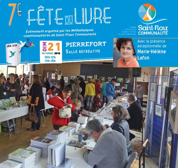 Fête du livre 2018 Pierrefort