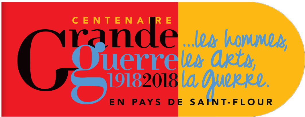 Pictogramme Centenaire Grande Guerre Saint-Flour Communauté