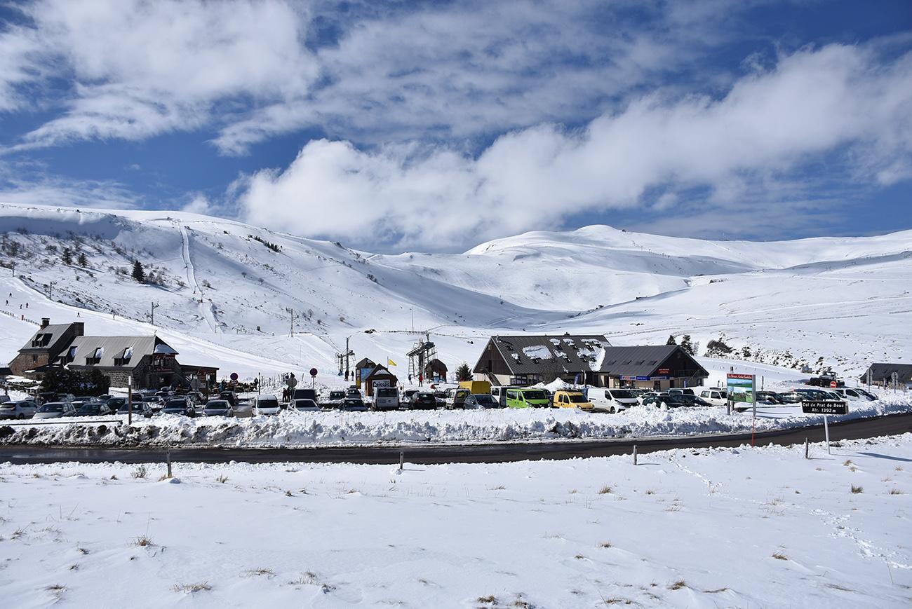 prat de bouc neige ski hiver