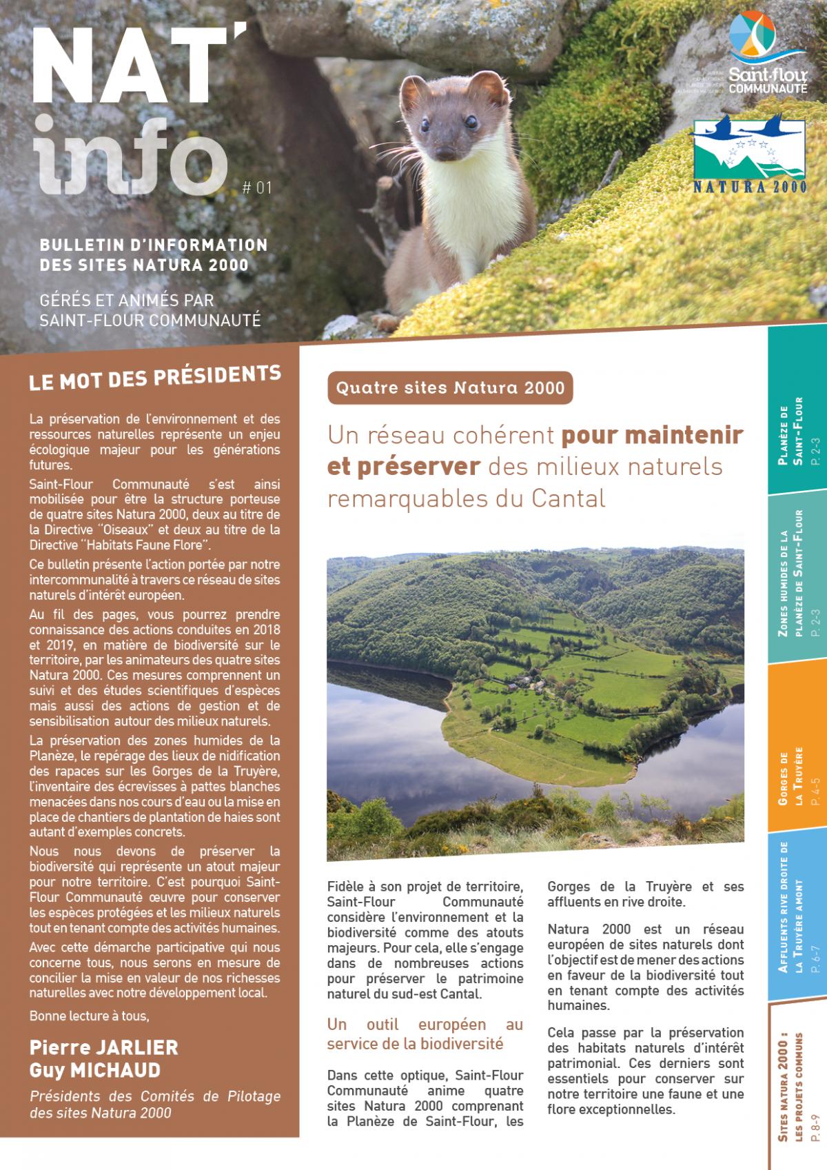 NAT'info #01 - Saint-Flour Communauté