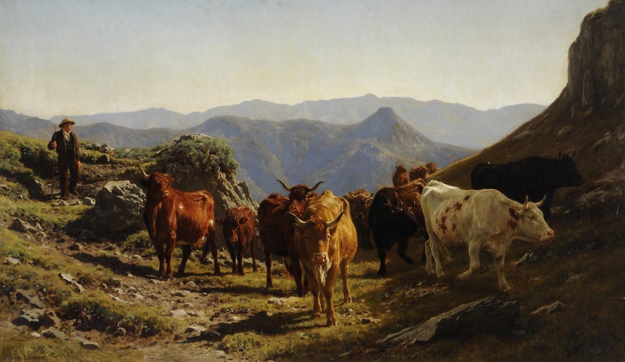 Le Cantal vu par les artistes