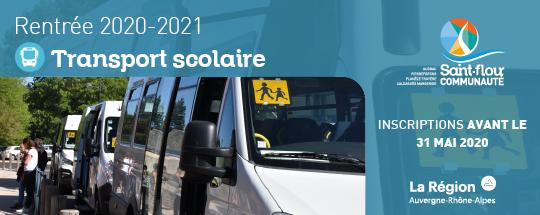 rentrée 2020-2021 fiche d'inscription transports scolaires saint-flour communauté