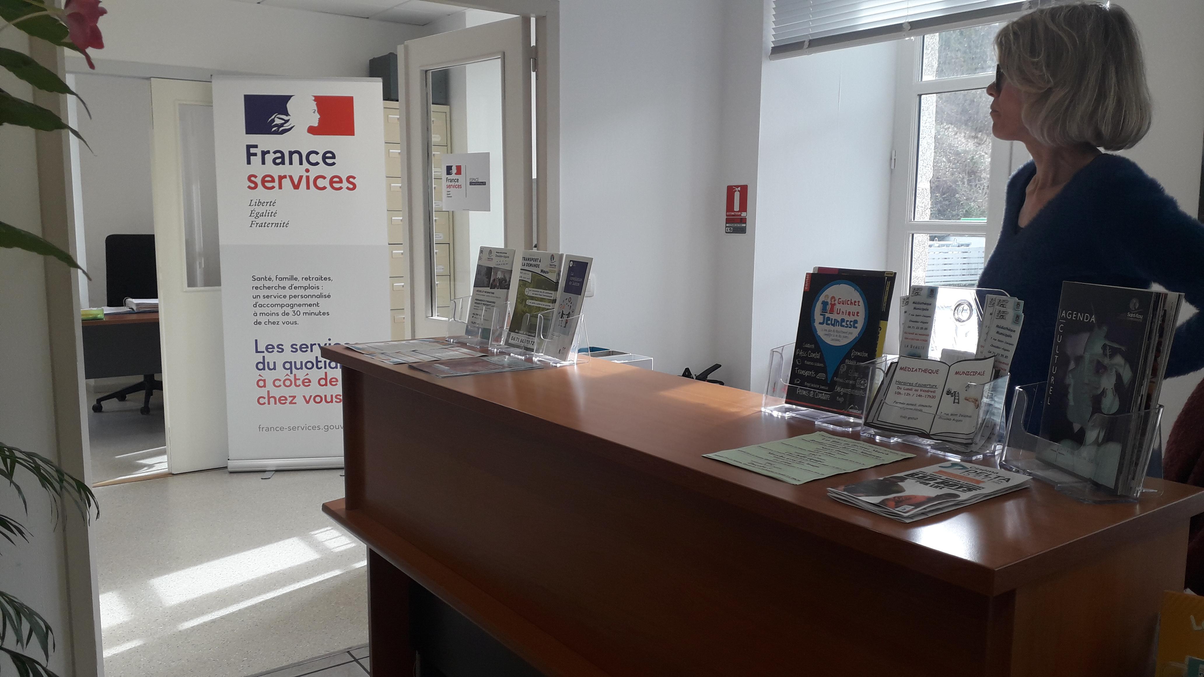 accueil maison des services communautaire France Services