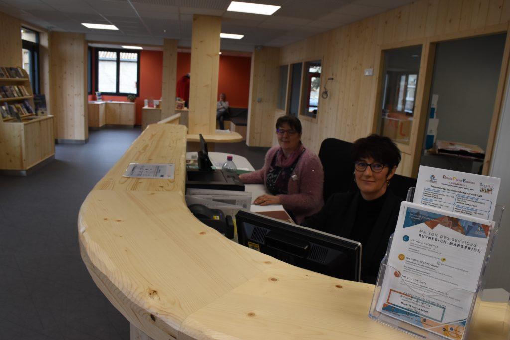 accueil maison des services Ruynes-en-Margeride