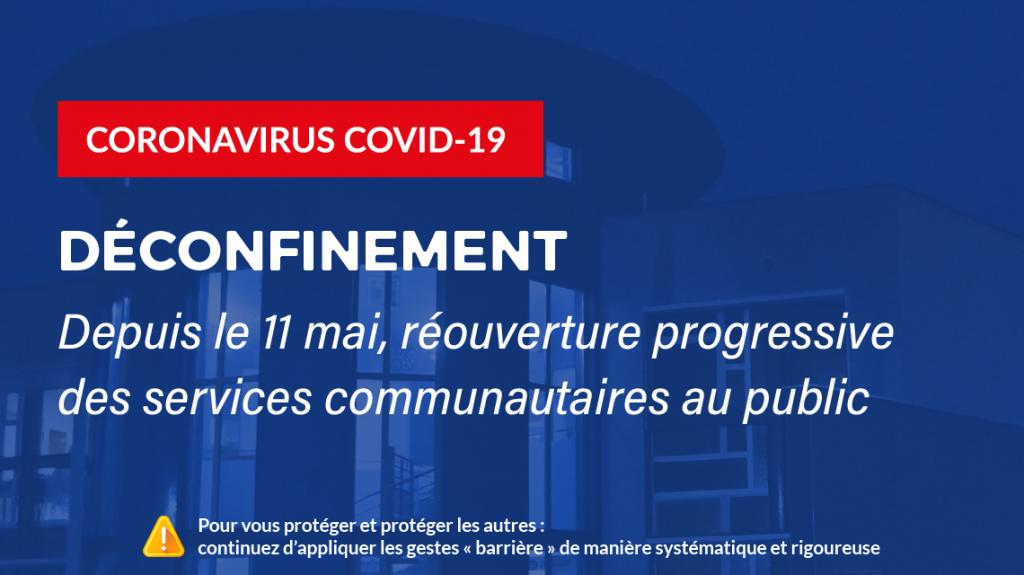 déconfinement covid-19 mai 2020 réouverture services saint-flour communauté