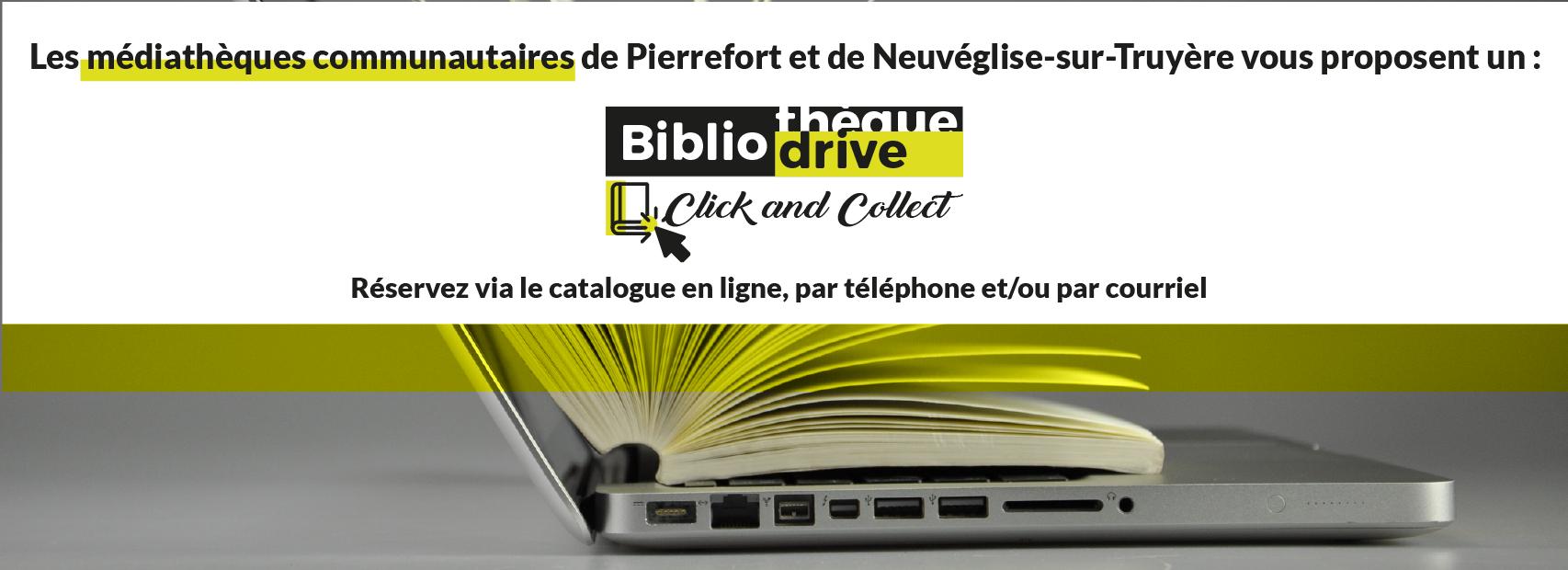 biblio drive médiathèques communautaires saint-flour communauté pierrefort neuvéglise