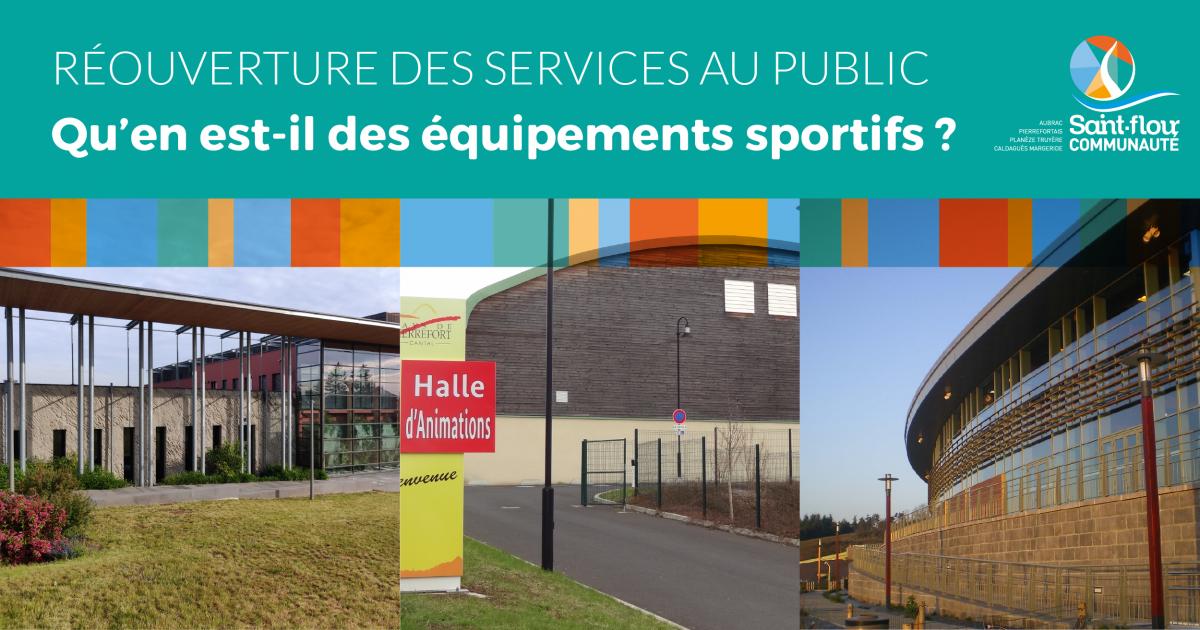 équipements sportifs Saint-Flour Communauté