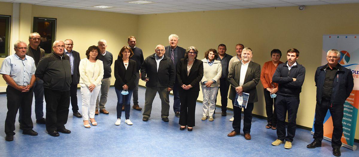 conseil communautaire 17 juillet 2020 élections intercommunales 2020 céline charriaud bureau exécutif