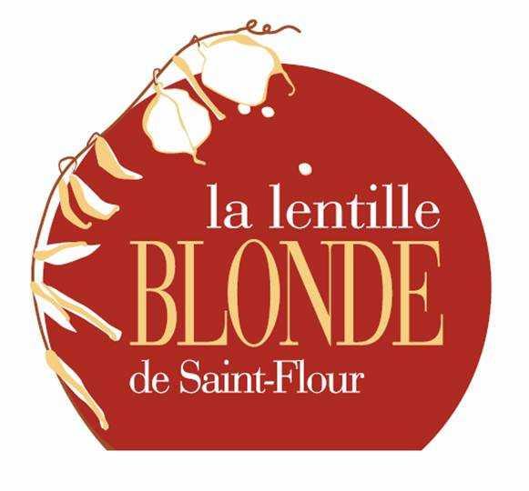 logo lentille blonde Saint Flour
