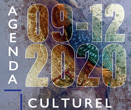 Agenda culturel septembre décembre 2020