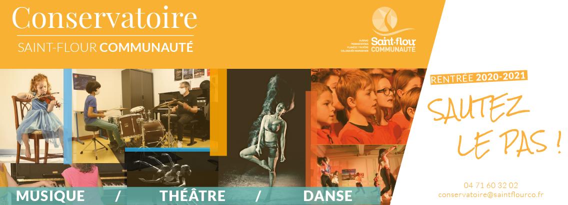 Conservatoire Saint-Flour Communauté Rentrée 2020-2021 Sautez le pas !