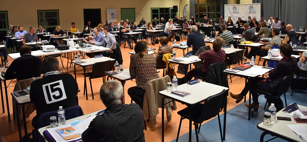 conseil communautaire Saint-Flour Communauté 22 septembre 2020