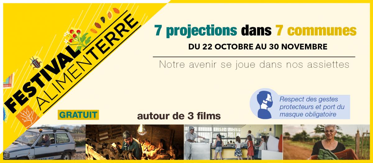 Bandeau festival Alimenterre Saint-Flour Communauté 2020
