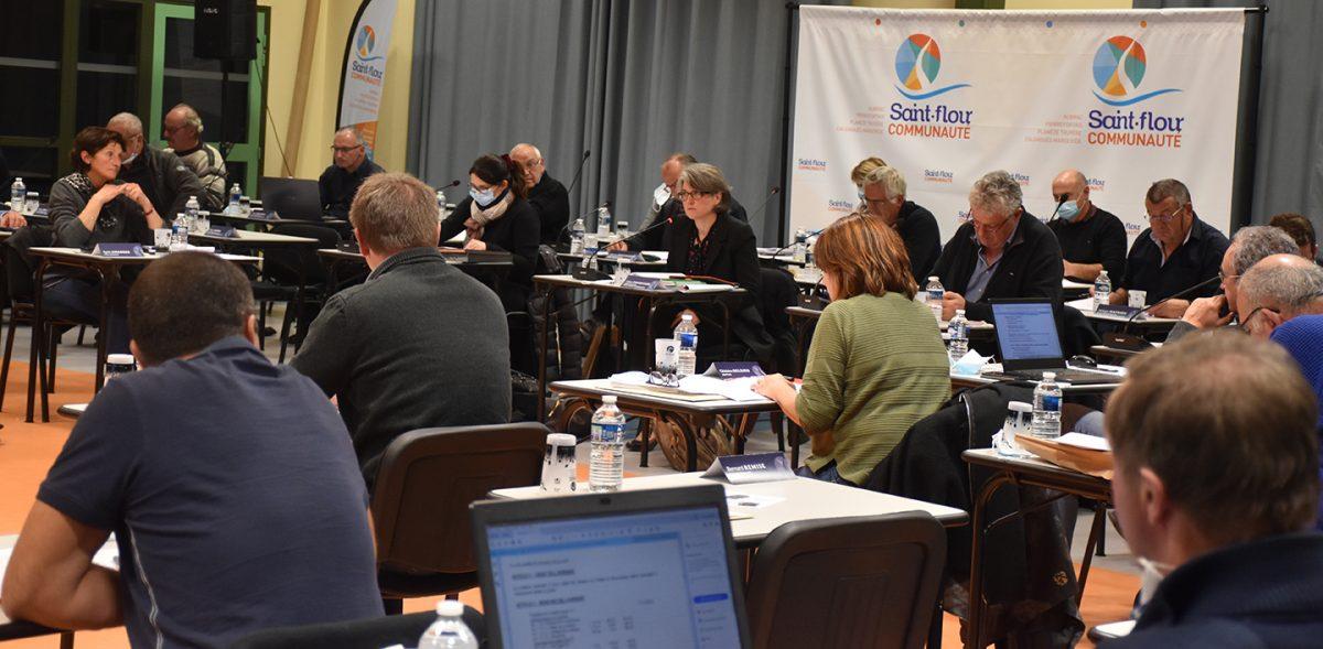 Céline Charriaud Conseil communautaire du 13 octobre 2020 Saint-Flour Communauté